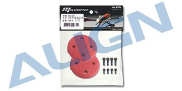 Multicopter Main Rotor Cover- Red