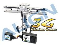 T-Rex 600 3G - Programmable Flybarless System/Silver