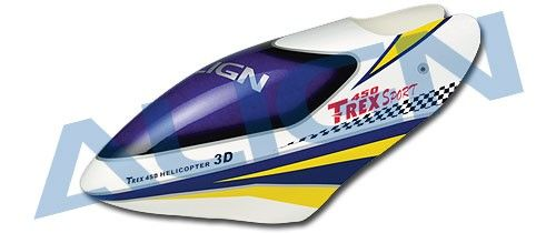 Click on the photo to enlarge it  sc 1 st  ALIGN.pl & T-Rex 450 Sport - Painted Canopy A | PARTS \ T-REX 450 SPORT PARTS ...