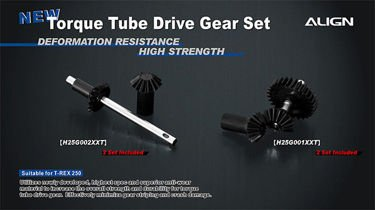 T-rex 250 - Torque Tube Rear Drive Gear Set