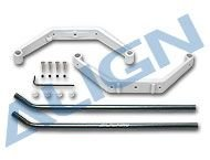 T-Rex 450 - Landing Skid Set/White