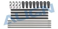 T-Rex 700E - Aileron Carbon Fiber Linkage Rod Set
